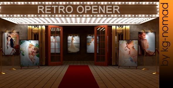 Videohive Cinema Retro Opener 8229309