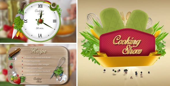 Videohive Cooking Show Pack 2 16149174