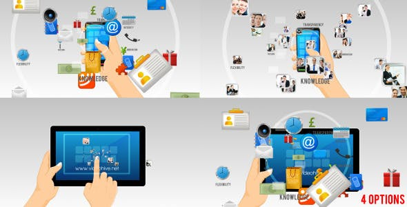 Videohive Corporate Or Mobile Applications Logo Revealer 3769943