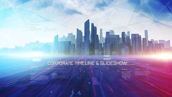 Videohive Corporate Timeline & Slideshow 10906730
