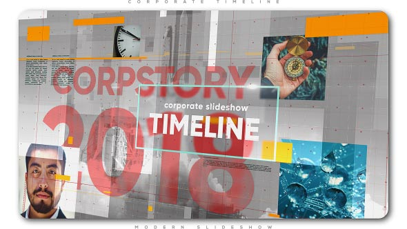 Videohive Corporate Timeline Slideshow 21430318