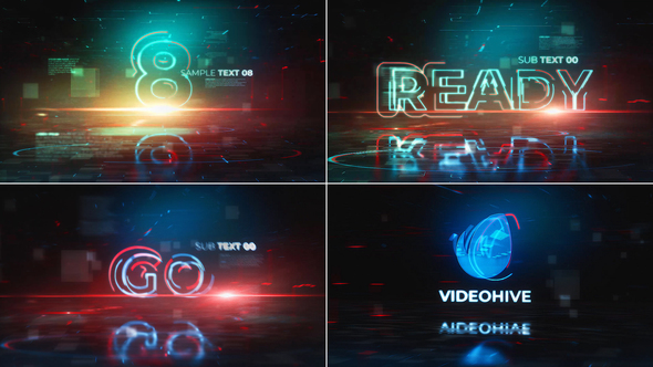 Videohive Countdown Logo Reveal 22238029