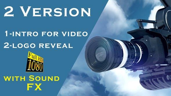 Videohive Crane Camera Lens Intro 6190987
