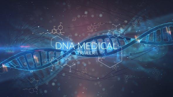Videohive DNA Medical Trailer 21001924
