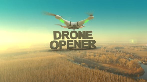Videohive Drone Opener 13814041