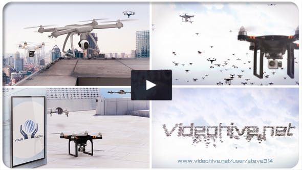 Videohive Drones Technology 21838090