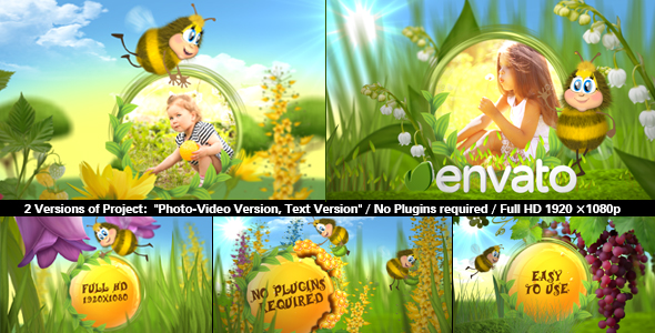 Videohive Funny Bee Slideshow 15749543