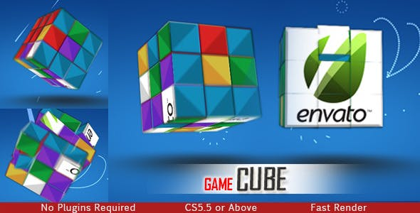 Videohive Game Cube 8956508