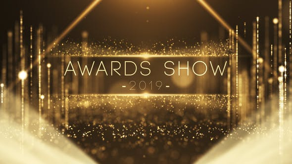Videohive Gold Particles Awards Show 23606608