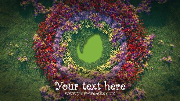 Videohive Growing Flowers Pattern Logo Opener 23281334