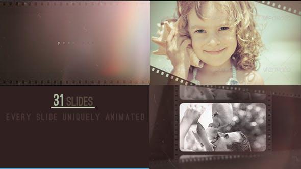 Videohive Light Leak Slide 8296955
