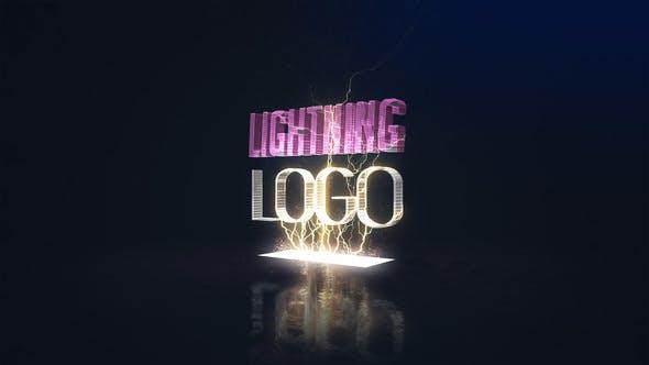 Videohive Lightning Logo 22835527