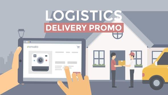 Videohive Logistics Delivery Promo 21966639