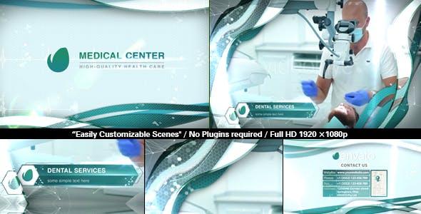 Videohive Medical Center Slideshow 16656338