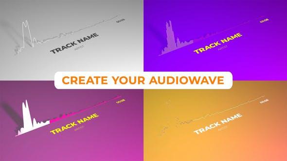 Videohive Minimalistic Clean Audio Visualizer 23779884