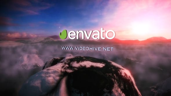 Videohive Moutains above the Sky Logo 19351859