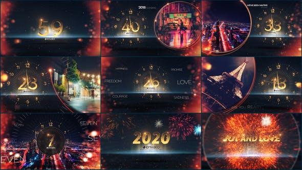 Videohive New Year Countdown 2019 21003657