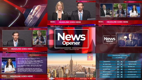 Videohive News Broadcast Pack (V2) 21546443