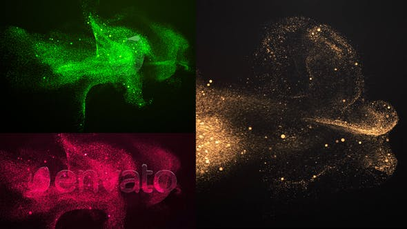 Videohive Particle Sand Logo Reveal 25545874