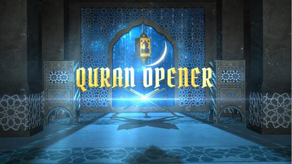 Videohive Quran Opener 21663412