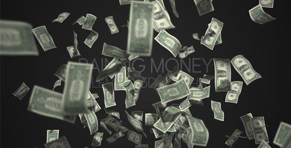 Videohive Raining Money 19872440