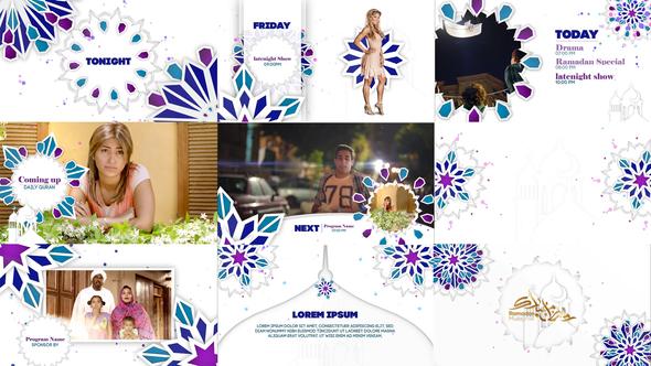 Videohive Ramadan Broadcast Packaging 21842133
