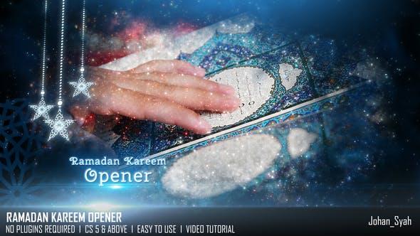 Videohive Ramadan Kareem Opener 23649325