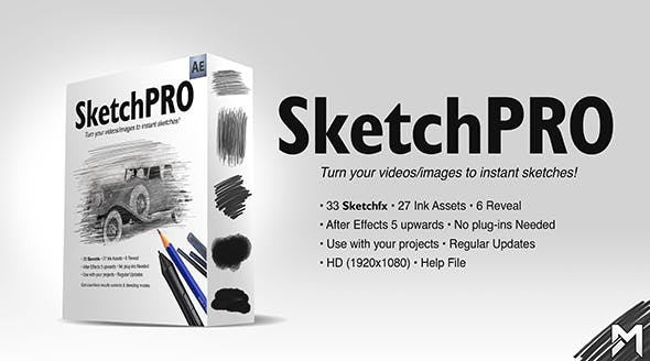 Videohive Sketch Pro 19895203