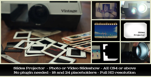 Videohive Slides Projector 5434898