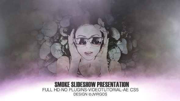 Videohive Smoke Slideshow Presentation 5863853