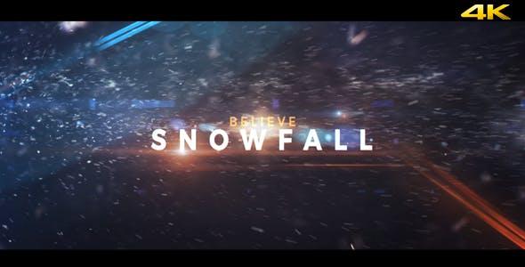 Videohive Snowfall - Dramatic Trailer 19472449