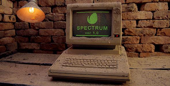 Videohive Spectrum - Old Computer Opener 15247782