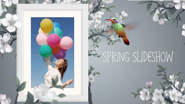 Videohive Spring Slideshow 15548547