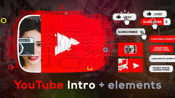 Videohive Stomp YouTube Intro 20928325