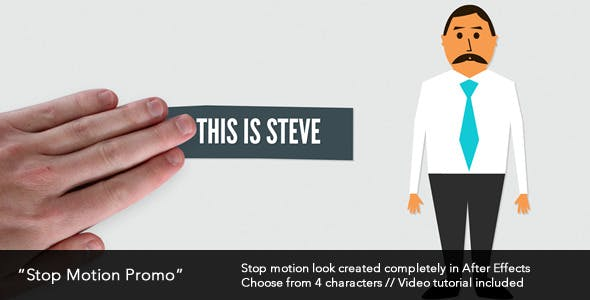 Videohive Stop Motion Promo 4369870