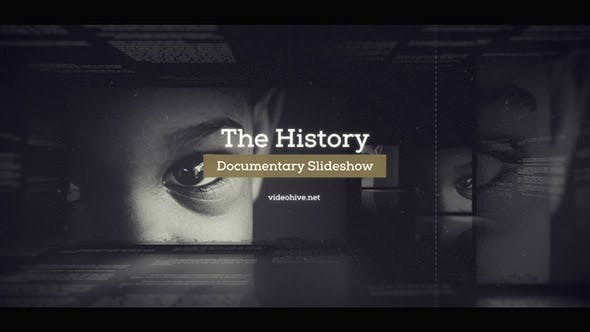 Videohive The History - Documentary Slideshow 20476675