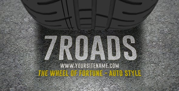 Videohive The Wheel Of Fortune - Auto Style 15785627