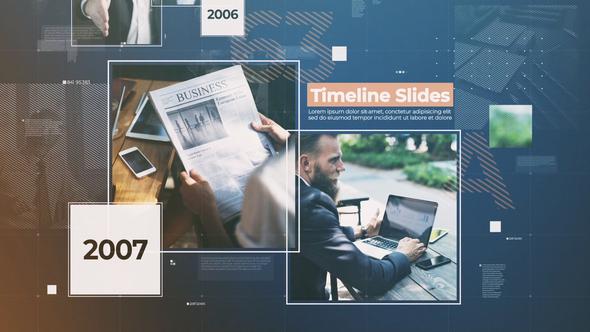 Videohive Timeline Slides 21620214
