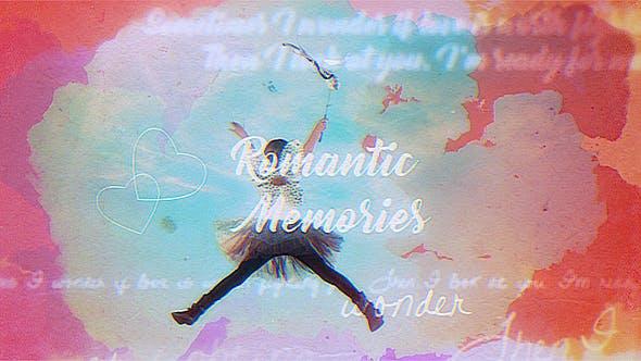 Videohive Vintage Memories 20169905