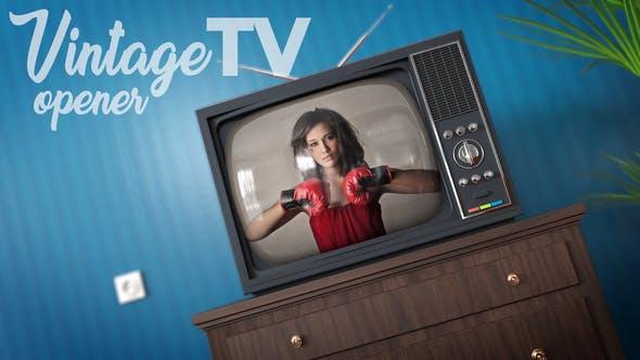 Videohive Vintage TV 22068320