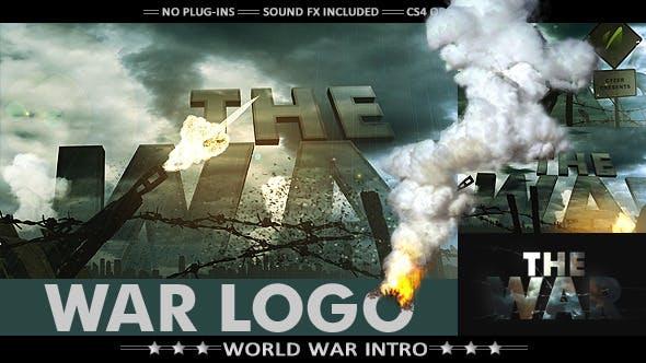Videohive War Logo - Realistic Military Intro 7725040