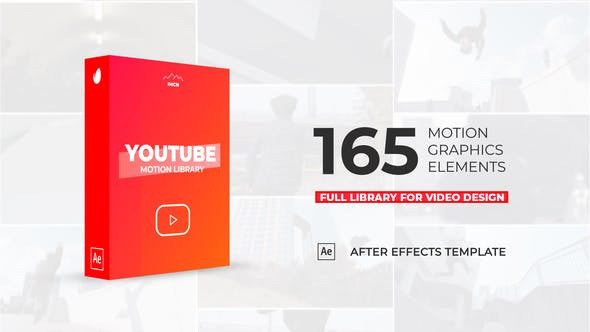 Videohive Youtube Motion Library 23347717