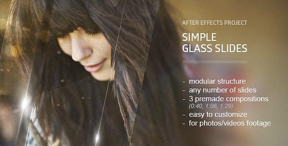 Videohive Glass Slides 10203591