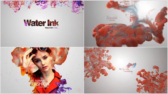 Videohive Water Ink Package 20933155