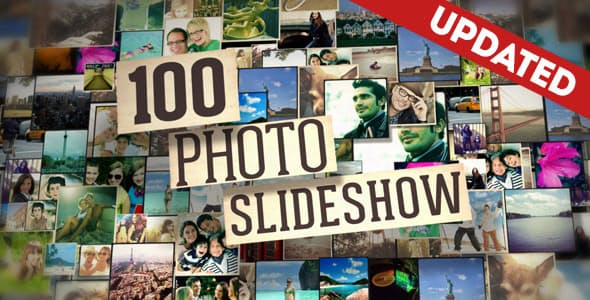 Videohive 100 Photo Slideshow 5581349