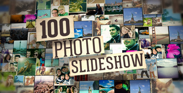 Videohive 100 Photos Slide Show