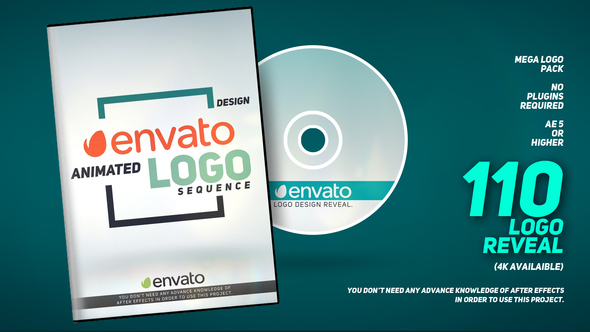 Videohive 110 Logo Pack 21814698