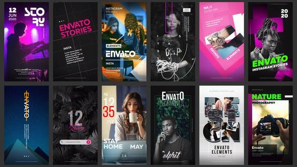 Videohive 12 Instagram Stories Vol. 8 26464607