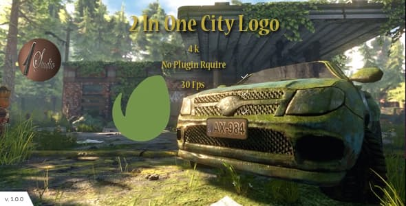 Videohive 2 In One City Logo 19073370