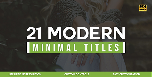 Videohive 21 Modern Titles 20306047